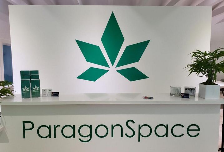 Paragon opens first blockchained powered coworking space for cannabis-related companies.