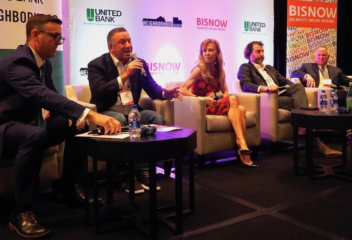Perry, White, Ross & Jacobsin's Justin Ross, Terrapin Development Co.'s Ken Ulman, Southern Management Corp.'s Suzanne Hillman, War Horse Cities' Scott Plank and University of Maryland's Edward Maginnis
