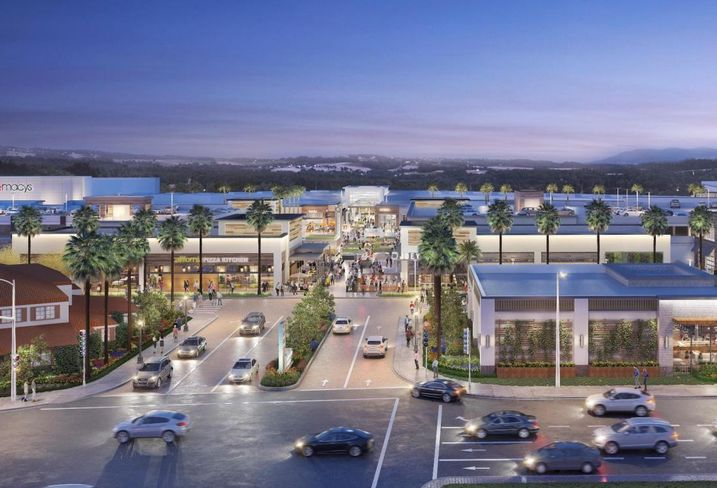 Manhattan Village is a 44-acre, 573K SF indoor/outdoor mixed-use retail experience which is currently undergoing a $180 million redevelopment with completion scheduled for 2020.