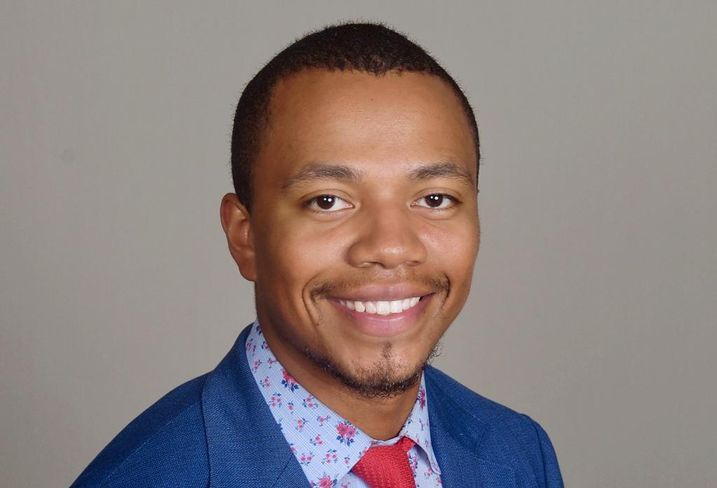 Cristian Goodson, a 23-year-old senior at San Diego State University who serves as an advisory and transactions intern at CBRE. He is also the executive director of sponsorship at the Real Estate Society of San Diego State University.