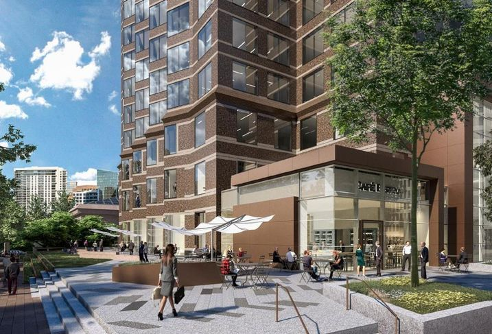 Checking In On The Renovation Of Trammell Crow Center