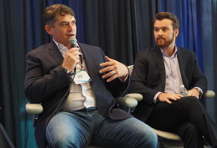 MakeOffices' Zach Wade and Convene's Michael Burke