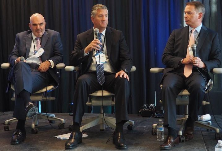 Cushman & Wakefield's Bill Collins, Carr Properties' Oliver Carr and JBG Smith's Britt Snider