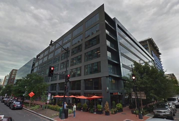 The office building at 425 Eye St. NW
