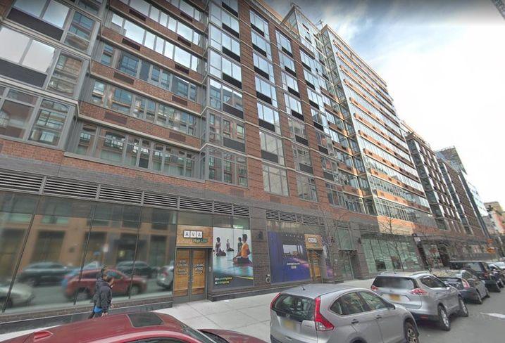 The AVA High Line apartment building in Manhattan