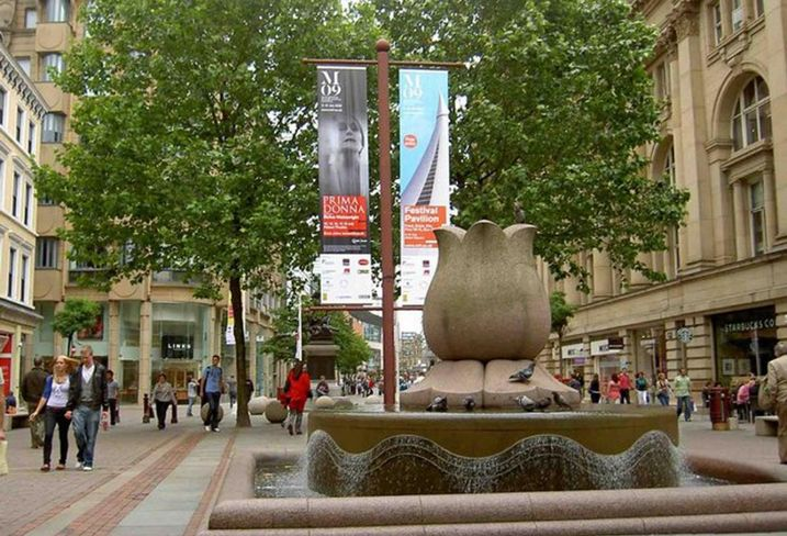 St ann's Square Manchester retail