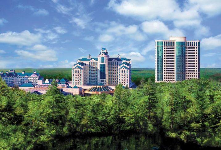 The Foxwoods Resort Casino in Connecticut