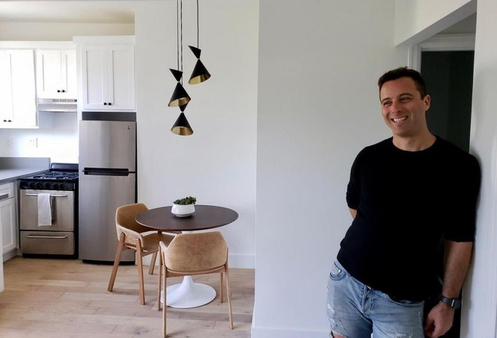 San Francisco-based Starcity CEO Jon Dishotsky inside his company's first co-living building in Los Angeles. The property is located just a block away from Venice Beach.