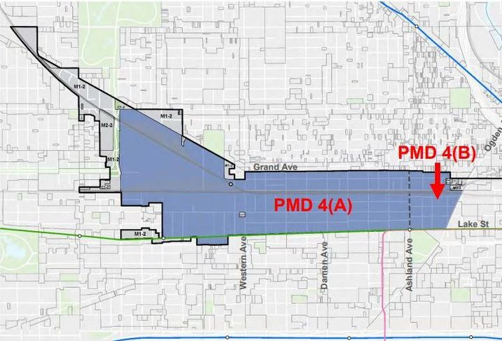 City Proposes Tweaks To Kinzie PMD