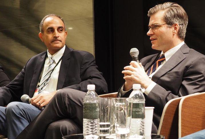 EJF's Asheel Shah and Redbrick's Tom Skinner