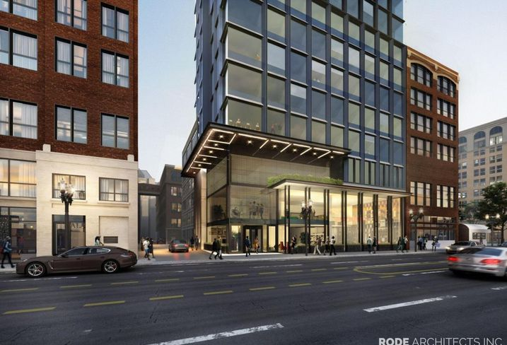 BPDA Approves 21-Story Hotel For Leather District