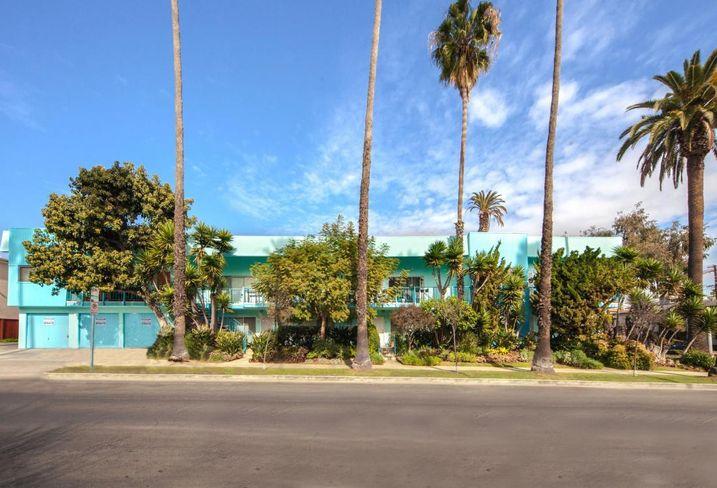 The nine-unit Aloha Apartments in Santa Monica