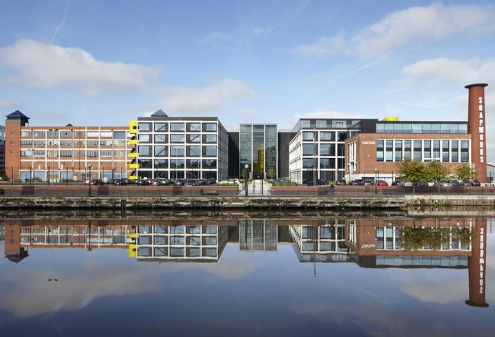 Soapworks Salford Manchester offuce