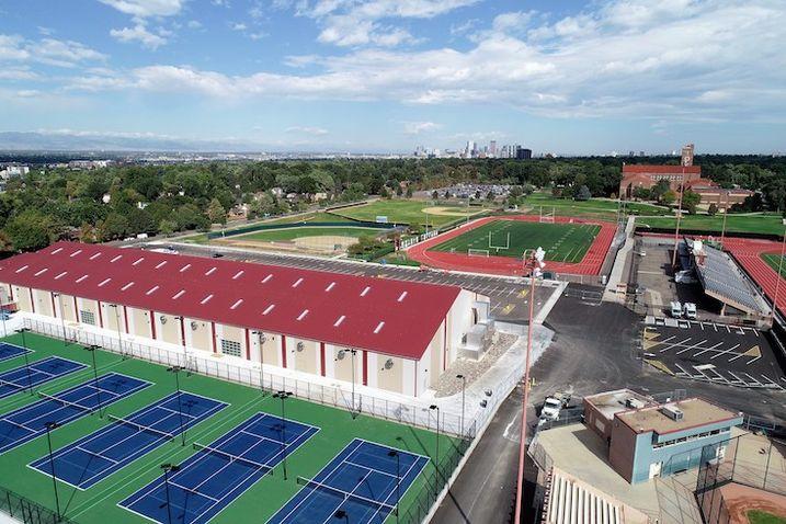 PCL Finishes Construction Of Denver Tennis Park