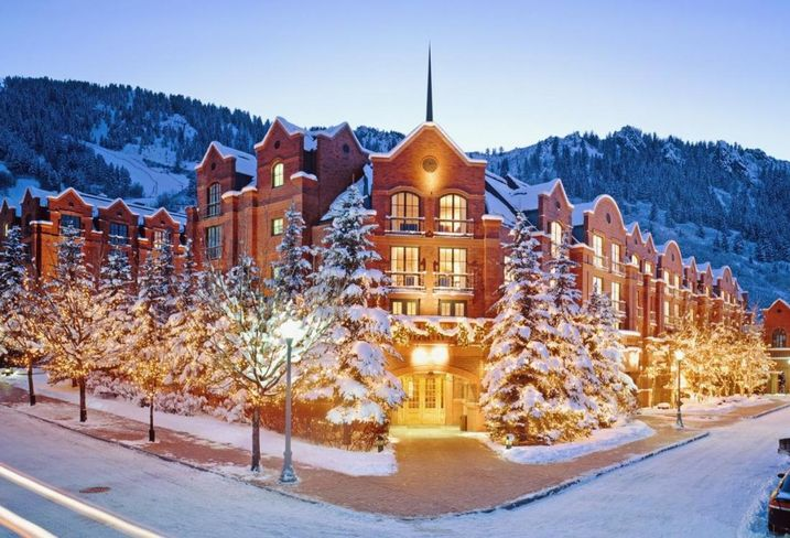 The St. Regis Aspen luxury resort in Colorado