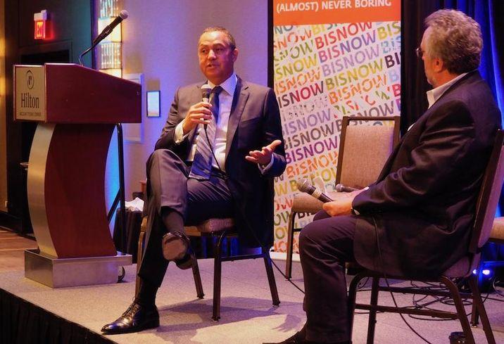 Peebles Corp. CEO Don Peebles and LW Hospitality Advisors' Dan Lesser