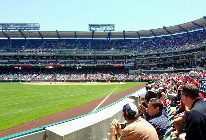 Angel Stadium in Anaheim