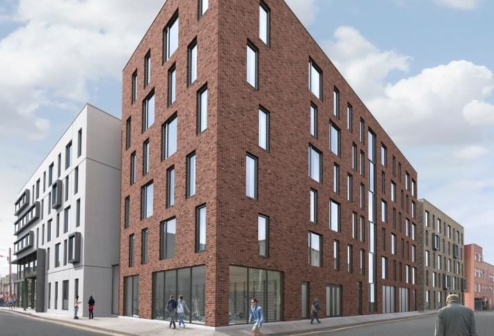 Artist's impression of the 207-bed Carman's Hall student housing scheme in Dublin 8