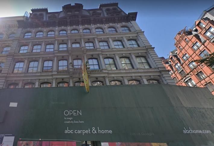 ABC Carpet & Home Closing Another Store In New York