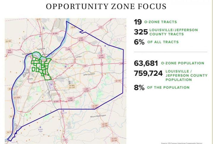 Louisville, Kentucky's prepared Investment Prospectus on Opportunity Zones