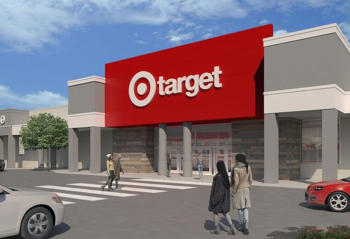 A rendering of the new store Target is planning in Oxon Hill, Maryland