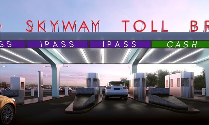 Skyway Toll Booth