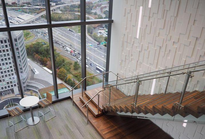 Capital One HQ interior stars