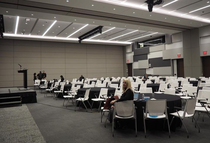 Capital One HQ conference room