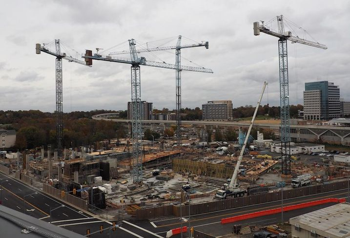 Capital One HQ next phase construction