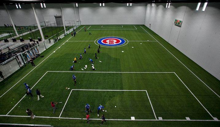 Cubs soccer field