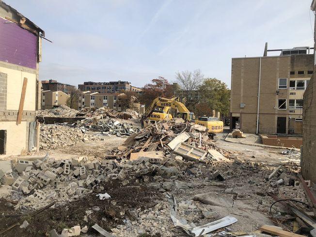Sursum Corda demolition