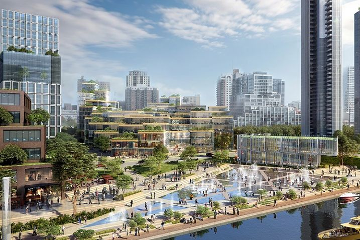 The 78's Education Hub and Riverwalk with contributions by architect 3XN