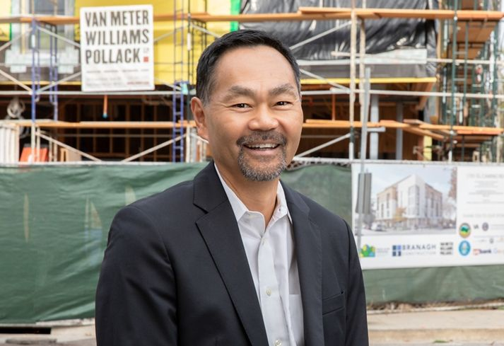Palo Alto Housing President and CEO Randy Tsuda