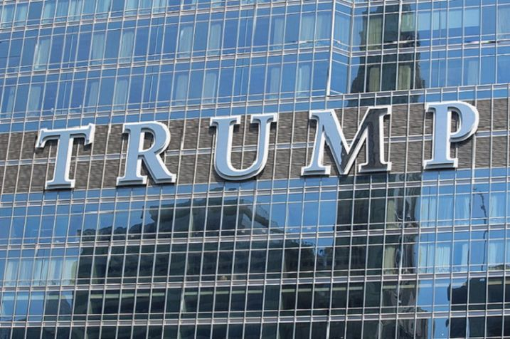 The Trump International Hotel and Tower sign was considered an eyesore by many.