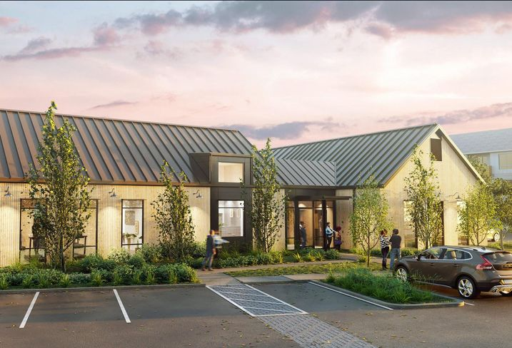 Rendering of the Ambrose apartment project in Bremerton, Wash.
