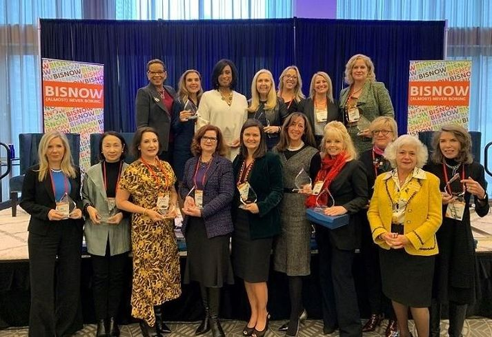 Group of honorees at Chicago Power Women Event Dec. 4