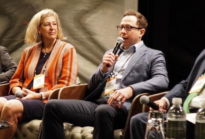 Urban Atlantic's Vicki Davis and MidCity Development's Jamie Weinbaum