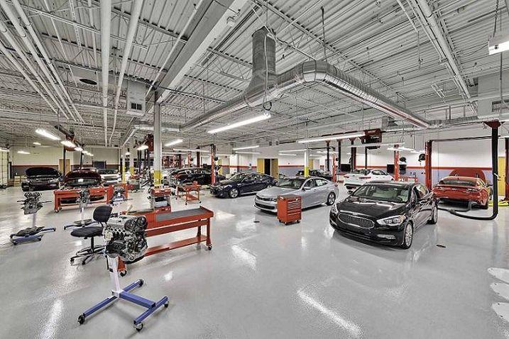 Kia Motors' interior