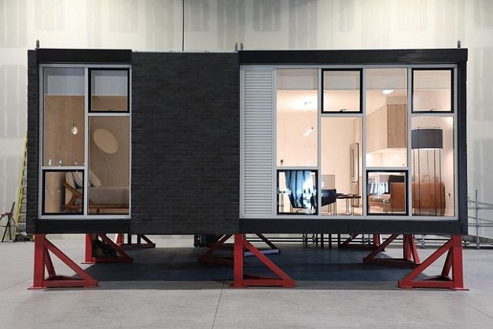 Skender's prototype of its new modular unit.
