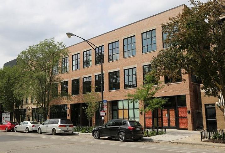 1714 West Division Street, now used as a shared office space.