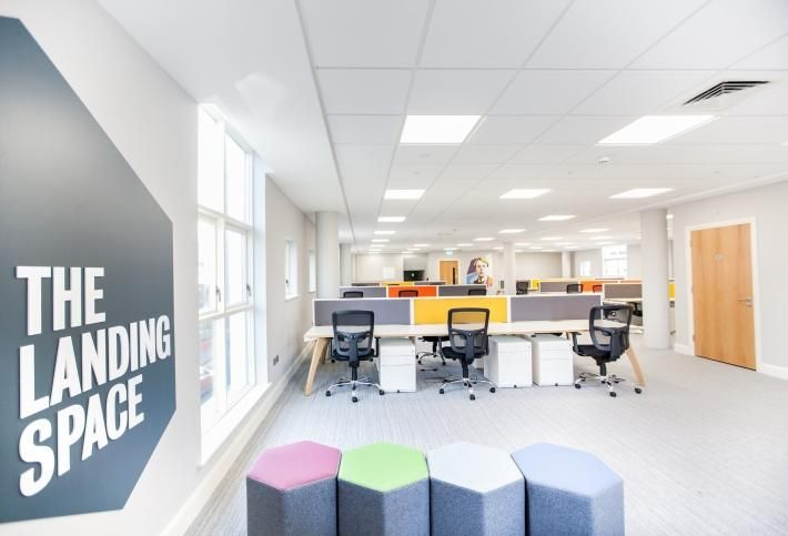 The Landing Space flexible office option in Sligo, developed through an IDA Ireland, IT Sligo and Sligo County Council partnership