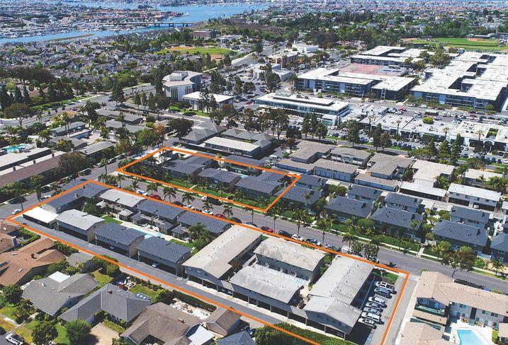 66 Unit Newport Beach Apartment Community Sells For 30 5m