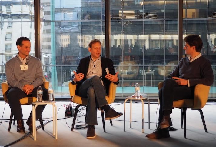 Carr Properties' Austen Holderness, JBG Smith's Kai Reynolds and Ditto Residential CEO Martin Ditto