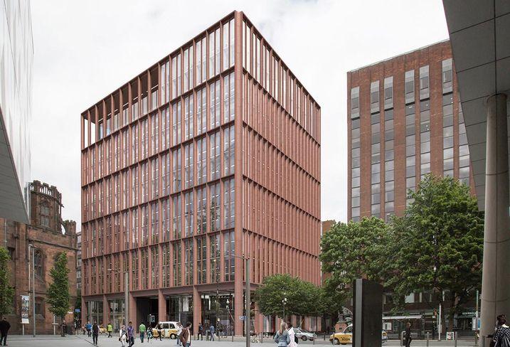 125 Deansgate Manchester office offices designed glen howell architects developer Worthington