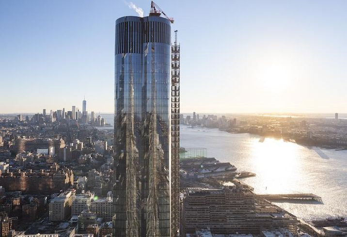 Amid A Crowded Luxury Market, Hudson Yards' First Residential Tower Opens Its Doors