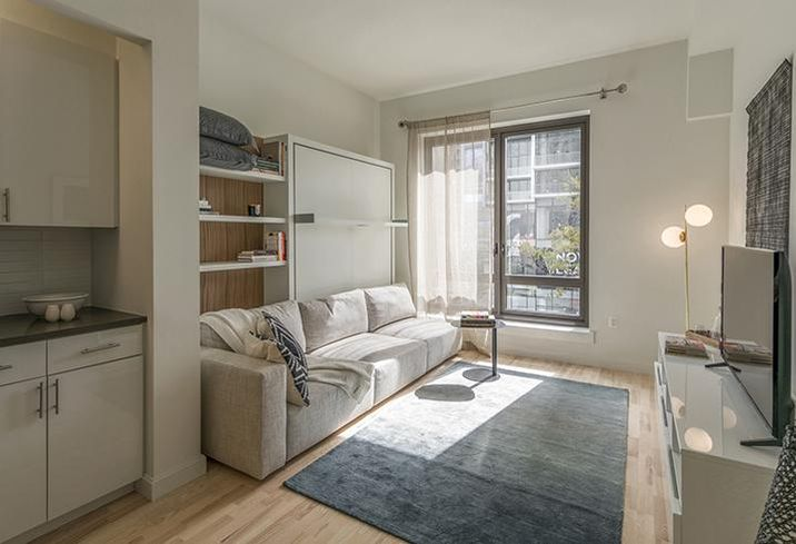 Caesura in Brooklyn features 34 micro-units of less than 400 SF.