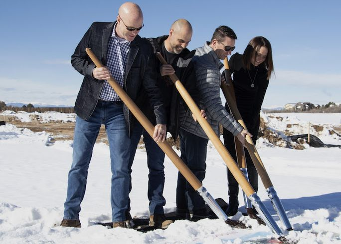 Canvas Credit Union Breaks Ground On Castle Rock Branch