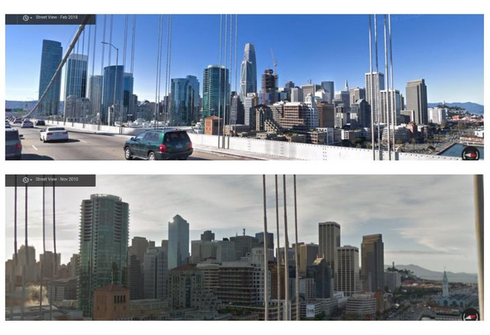San Francisco's #10YearChallenge Reflects New Skyline