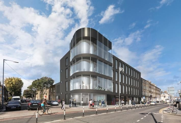 The Lennox Building on Lennox Street in Dublin 2, developed by Oakmount and now on the market for over €25.5M
