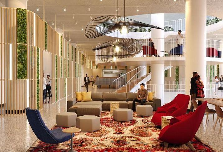 River City's new lobby